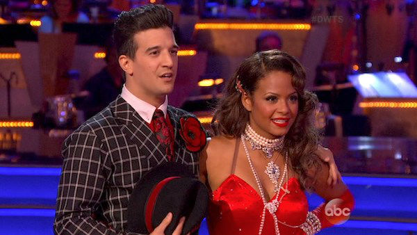 Christina Milian and Mark Ballas danced the Foxtrot on week four of &#39;Dancing With The Stars&#39; on Oct. 7, 2013. They received 24 out of 30 points from the judges. <span class=meta>(ABC Photo)</span>