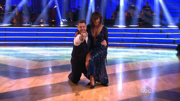 Jack Osbourne and Cheryl Burke dance the Quickstep on week four of &#39;Dancing With The Stars&#39; on Oct. 7, 2013. They received 24 out of 30 points from the judges. <span class=meta>(ABC Photo)</span>