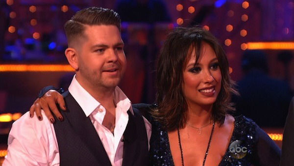 Jack Osbourne and Cheryl Burke danced the Quickstep on week four of &#39;Dancing With The Stars&#39; on Oct. 7, 2013. They received 24 out of 30 points from the judges. <span class=meta>(ABC Photo)</span>