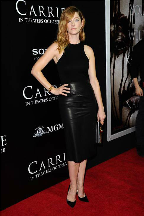 "<div class=""meta ""><span class=""caption-text "">Judy Greer appears at the premiere of 'Carrie' in Los Angeles, California on Oct. 7, 2013. (Sara De Boer / startraksphoto.com)</span></div>"