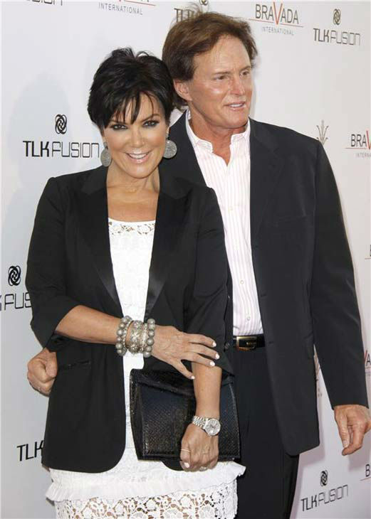 Kris and Bruce Jenner appear at The Bravada International Launch Party in Los Angeles, California on April 7, 2010.