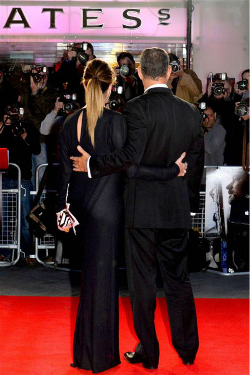Tom Hanks and wife Rita Wilson attend the premiere of &#39;Captain Phillips&#39; at the 57th annual BFI London Film Festival in London on Oct. 9, 2013. The two wed in 1988 and share two sons. Hanks is also a parent to son and actor Colin Hanks and a daughter. <span class=meta>(Richard Young &#47; Rex &#47; Startraksphoto.com)</span>