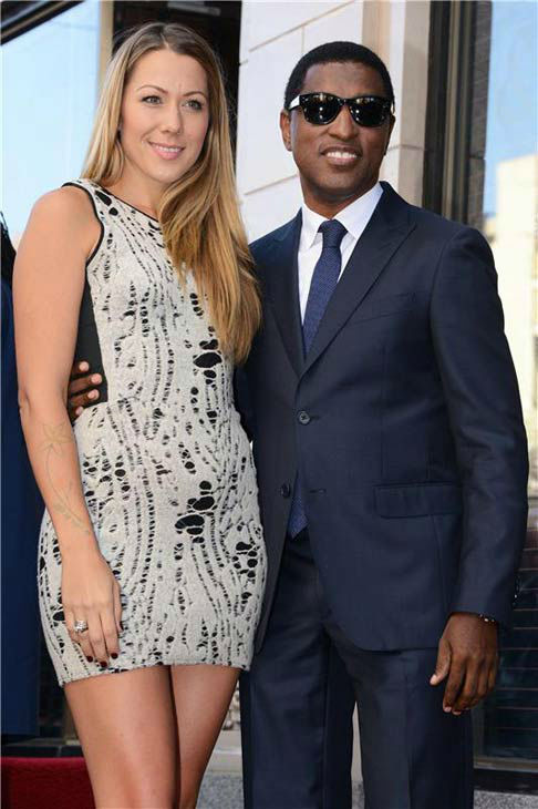 Colbie Caillat appears with Kenny &#39;Babyface&#39; Edmonds, who received a star on the Hollywood Walk of Fame on Oct. 10, 2013. <span class=meta>(Lionel Hahn&#47;Abacausa&#47;startraksphoto.com)</span>