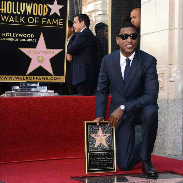 Kenny &#39;Babyface&#39; Edmonds received a star on the Hollywood Walk of Fame on Oct. 10, 2013. <span class=meta>(Lionel Hahn&#47;Abacausa&#47;startraksphoto.com)</span>