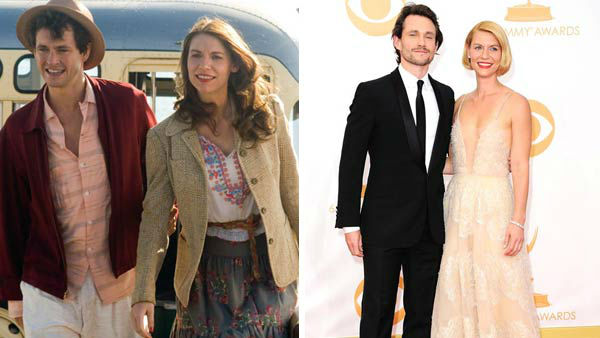 Claire Danes and Hugh Dancy first met on the set of the film &#39;Evening,&#39; and revealed their engagement in February 2009. The dup welcomed their first child together, a son named Cyrus Michael Christopher, in December 2012.  &#40;Pictured: Left -- Claire Danes and Hugh Dancy in a still from &#39;Evening&#39;. Right -- Claire Danes and Hugh Dancy at the 65th annual Emmy Awards in Los Angeles, California on Sept. 22, 2013.&#41; <span class=meta>(Focus Features &#47; Kyle Rover &#47; startraksphoto.com)</span>