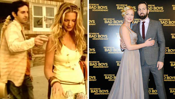 "<div class=""meta ""><span class=""caption-text "">Katherine Heigl and Josh Kelley first met on the set of Kelley's music video for the song 'Only You.' The couple later became engaged in 2006 and was married in December 2007 in Park City, Utah. The pair have two adopted daughters together, Naleigh and Adalaide.  (Pictured: Left -- Katherine Heigl and Josh Kelley in a still from 'Only You' music video. Right -- Katherine Heigl and Josh Kelley at the Paris premiere of 'One For The Money' on Jan. 31, 2012.) (Hollywood Records / Alban Wyters / startraksphoto.com)</span></div>"