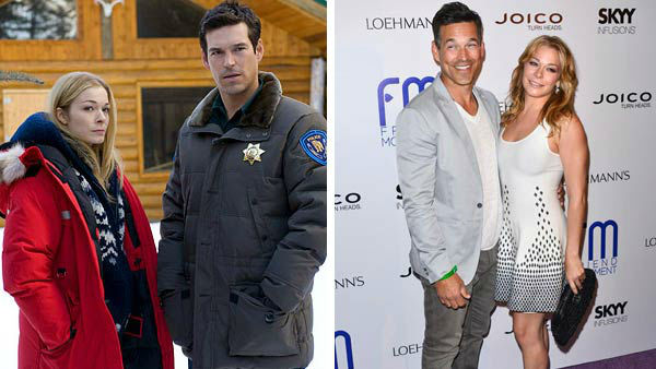 LeAnn Rimes and Eddie Cibrian infamously first met on the set of their 2008 Lifetime Original movie &#39;Northern Lights,&#39; and began dating while they were still married to their respective spouses, Dean Sheremet and Brandi Glanville. Once news broke of the couple&#39;s affair, their marriages ended and the pair later married in 2011. The two are reportedly set to star in their own VH1 reality show.  &#40;Pictured: Left -- LeAnn Rimes and Eddie Cibrian in a still from &#39;Northern Lights&#39;. Right -- LeAnn Rimes and Eddie Cibrian at the Friend Movement Benefit Concert in Los Angeles, California on July 1, 2013.&#41; <span class=meta>(Lifetime Television &#47; Tony Dimaio &#47; startraksphoto.com)</span>