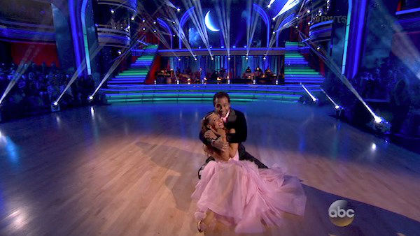 "<div class=""meta image-caption""><div class=""origin-logo origin-image ""><span></span></div><span class=""caption-text"">Corbin Bleu and Karina Smirnoff dance the Foxtrot on week five of 'Dancing With The Stars' on Oct. 14, 2013. They received 28 out of 30 points from the judges.Corbin Bleu and Karina Smirnoff danced the Foxtrot on week five of 'Dancing With The Stars' on Oct. 14, 2013. They received 28 out of 30 points from the judges. (ABC Photo)</span></div>"