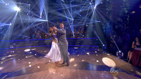 Jack Osbourne and Cheryl Burke dance the Waltz on week five of &#39;Dancing With The Stars&#39; on Oct. 14, 2013. They received 27 out of 30 points from the judges. <span class=meta>(ABC Photo)</span>