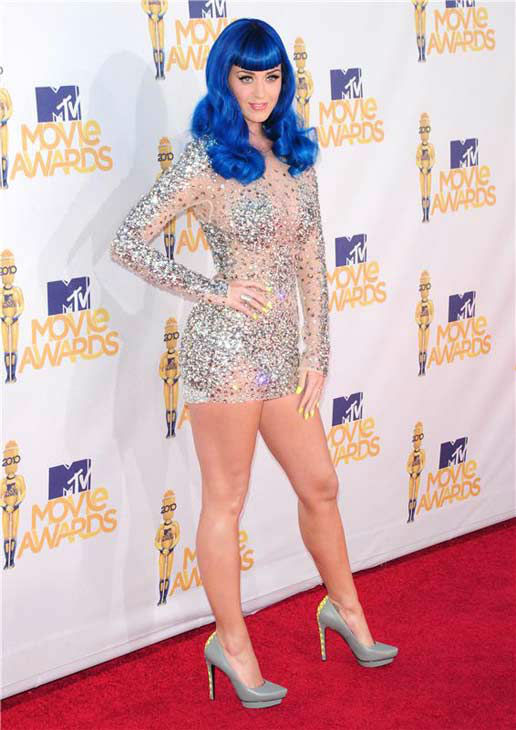 Katy Perry appears at the 2010 MTV Movie Awards in Los Angeles, California on June 6, 2010. <span class=meta>(Kyle Rover &#47; startraksphoto.com)</span>