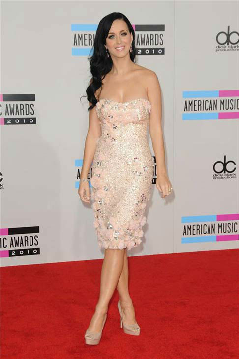 Katy Perry appears at the 2010 American Music Awards in Los Angeles, California on Nov. 21, 2010.  <span class=meta>(Kyle Rover &#47; startraksphoto.com)</span>