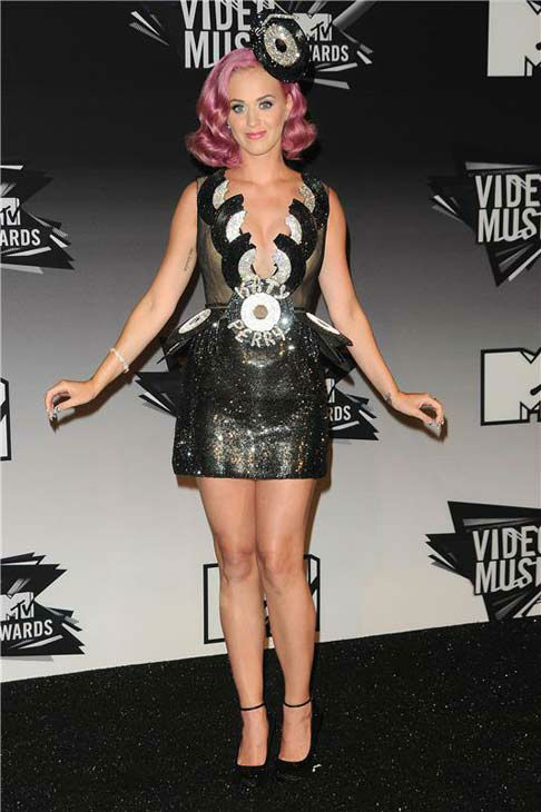 Katy Perry appears at the 2011 MTV Video Music Awards in Los Angeles, California on Aug. 28, 2011.  <span class=meta>(Kyle Rover &#47; startraksphoto.com)</span>