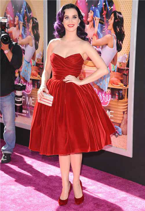 Katy Perry appears at the Los Angeles, California premiere of her film &#39;Katy Perry: Part of Me&#39; on June 26, 2012.  <span class=meta>(Sara De Boer &#47; startraksphoto.com)</span>