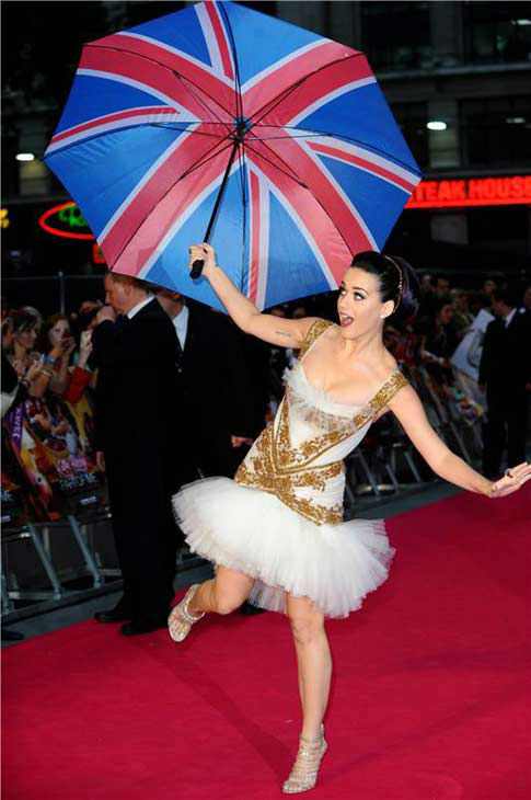 Katy Perry appears at the London premiere of her film &#39;Katy Perry: Part of Me&#39; on July 3, 2012.  <span class=meta>(Pge &#47; startraksphoto.com)</span>