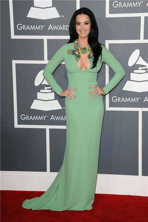 Katy Perry appears at the 55th annual GRAMMY Awards in Los Angeles, California on Feb. 10, 2013.  <span class=meta>(Kyle Rover &#47; startraksphoto.com)</span>