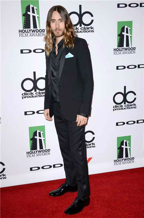 "<div class=""meta ""><span class=""caption-text "">Jared Leto appears at the 17th annual Hollywood Film Awards in Los Angeles, California on Oct. 21, 2013. (Lionel Hahn / startraksphoto.com)</span></div>"