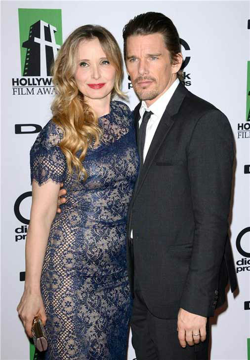 Julie Delpy and Ethan Hawke appear at the 17th annual Hollywood Film Awards in Los Angeles, California on Oct. 21, 2013. <span class=meta>(Lionel Hahn &#47; startraksphoto.com)</span>