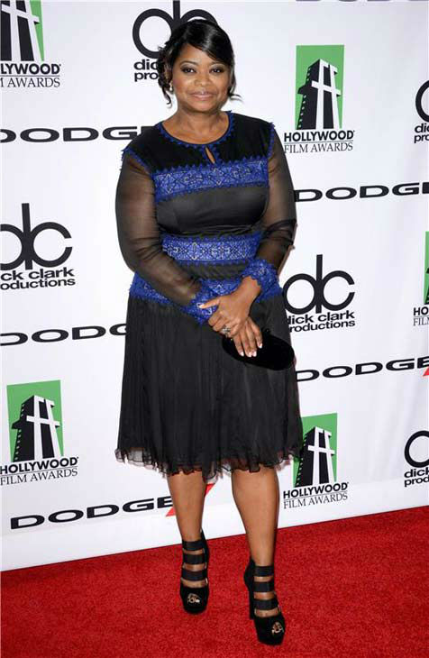 Octavia Spencer appears at the 17th annual Hollywood Film Awards in Los Angeles, California on Oct. 21, 2013. <span class=meta>(Lionel Hahn &#47; startraksphoto.com)</span>