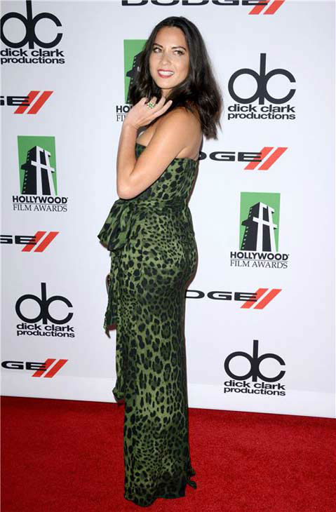 Olivia Munn appears at the 17th annual Hollywood Film Awards in Los Angeles, California on Oct. 21, 2013. <span class=meta>(Lionel Hahn &#47; startraksphoto.com)</span>