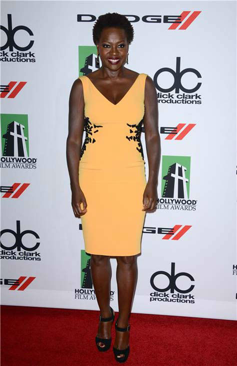 Viola Davis appears at the 17th annual Hollywood Film Awards in Los Angeles, California on Oct. 21, 2013. <span class=meta>(Lionel Hahn &#47; startraksphoto.com)</span>
