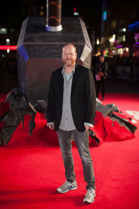 Joss Whedon appears at the global premiere for 'Marvel's Thor: The Dark World' at Odeon Leicester Square on October 22, 2013 in London, England.