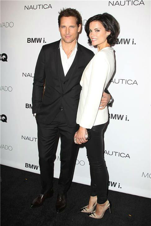 Peter Facinelli appears with girlfriend Jamie Alexander at the 2013 GQ Gentlemen&#39;s Give Back Ball in New York City on Oct. 23, 2013. <span class=meta>(Amanda Schwab &#47; startraksphoto.com)</span>