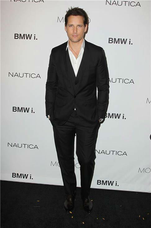 Peter Facinelli appears at the 2013 GQ Gentlemen&#39;s Give Back Ball in New York City on Oct. 23, 2013. <span class=meta>(Amanda Schwab &#47; startraksphoto.com)</span>