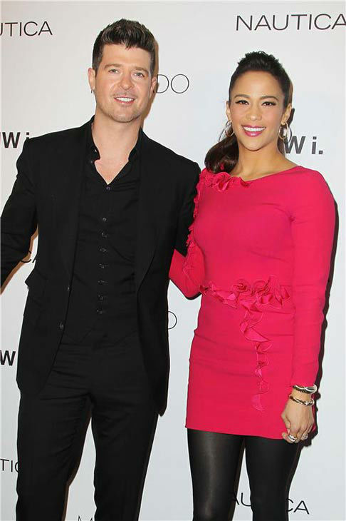 "<div class=""meta image-caption""><div class=""origin-logo origin-image ""><span></span></div><span class=""caption-text"">Robin Thicke and Paula Patton appear at the 2013 GQ Gentlemen's Give Back Ball in New York City on Oct. 23, 2013. (Amanda Schwab / startraksphoto.com)</span></div>"