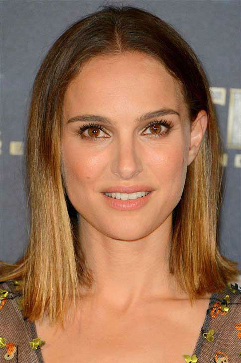 Natalie Portman appears at the premiere of 'Thor: The Dark World' in Paris on Oct. 23, 2013.