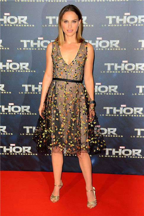 Natalie Portman appears at the premiere of &#39;Thor: The Dark World&#39; in Paris on Oct. 23, 2013. <span class=meta>(Nicolas Briquet&#47;Abaca&#47;startraksphoto.com)</span>