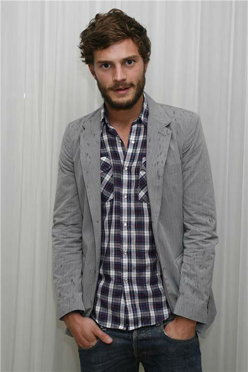 Jamie Dornan appears at An Evening In Aid of Clic Sagent event in London on May 15, 2007.