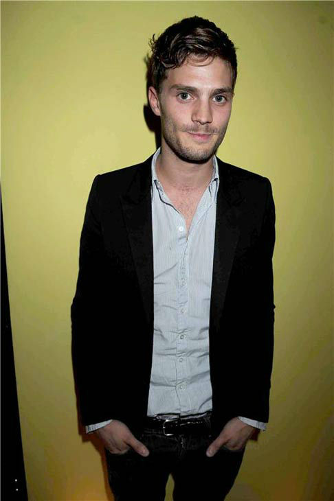 Jamie Dornan appears at the Man About Town magazine launch in London on Sept. 13, 2008.