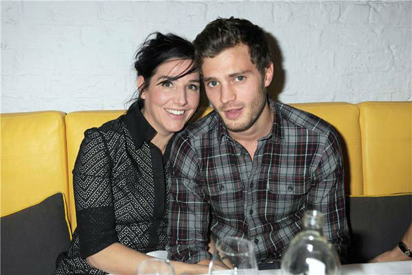Jaime Dornan appears with Sharleen Spiteri at Odette's Restaurant in London on Nov. 24, 2008.