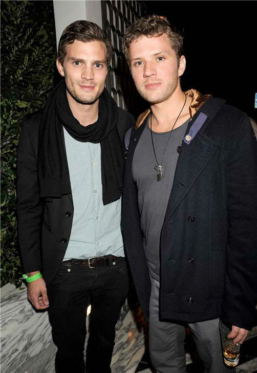 Jamie Dornan appears with Ryan Phillipe at the Grey Goose Pre-Academy Awards Party in Los Angeles, California on Feb. 19, 2009.  <span class=meta>(Richard Young &#47; startraksphoto.com)</span>