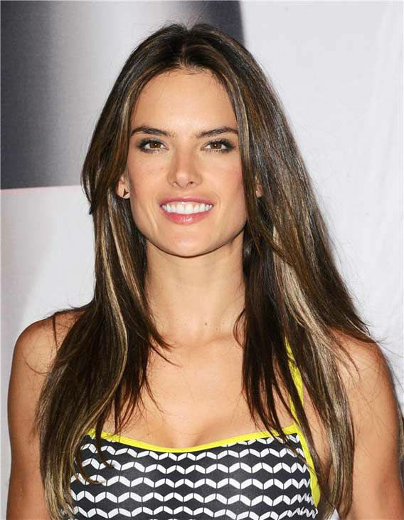 "<div class=""meta ""><span class=""caption-text "">Alessandra Ambrosio appears at the launch of Victoria's Secret's 'World's Best Sport Bras' in Beverly Hills, California, on Oct. 24, 2013. (Sara De Boer/startraksphoto.com)</span></div>"