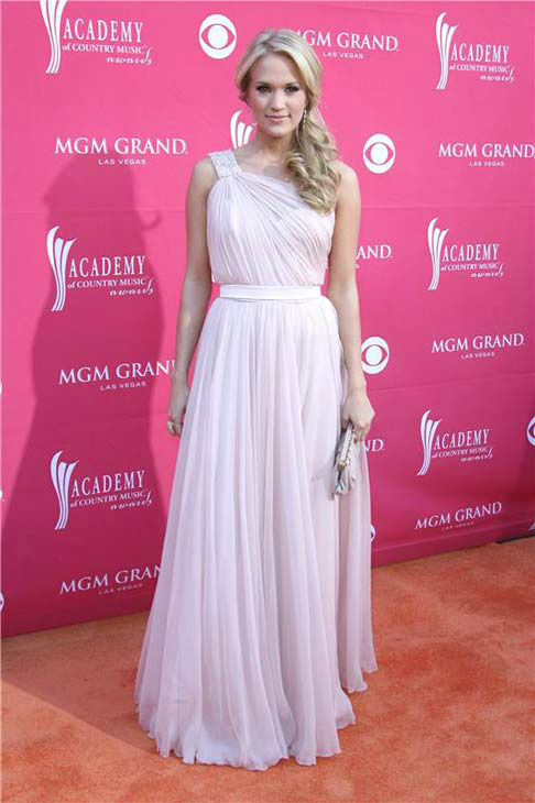 "<div class=""meta image-caption""><div class=""origin-logo origin-image ""><span></span></div><span class=""caption-text"">Carrie Underwood appears at the 44th annual Academy of Country Music Awards in Las Vegas, Nevada on April 5, 2009.  (Jen Lowery / startraksphoto.com)</span></div>"