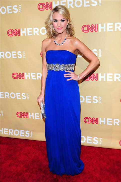 Carrie Underwood appears at the 2009 CNN Heroes: An All Star Tribute Awards in Los Angeles, California on Nov. 21, 2009.  <span class=meta>(Michael Williams &#47; startraksphoto.com)</span>