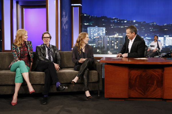 "<div class=""meta image-caption""><div class=""origin-logo origin-image ""><span></span></div><span class=""caption-text"">Matt Damon interviews Nicole Kidman, Gary Oldman and Amy Adams on ABC's 'Jimmy Kimmel Live!,' renamed 'Jimmy Kimmel Sucks,' after Damon hijacked the show on Jan. 24, 2013. (ABC Photo / Randy Holmes)</span></div>"