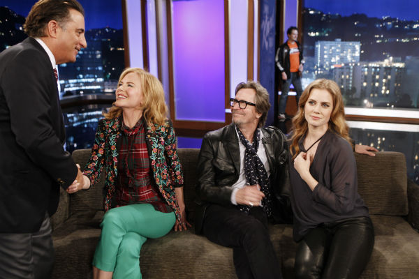 "<div class=""meta image-caption""><div class=""origin-logo origin-image ""><span></span></div><span class=""caption-text"">Andy Garcia, Nicole Kidman, Gary Oldman and Amy Adams appear on a Matt Damon-hijacked episode of ABC's 'Jimmy Kimmel Live!,' renamed 'Jimmy Kimmel Sucks,' on Jan. 24, 2013. (ABC Photo / Randy Holmes)</span></div>"