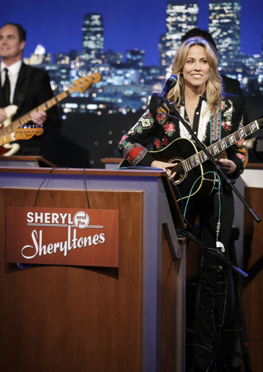 Sheryl Crow appears on a Matt Damon-hijacked...