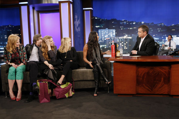 Matt Damon interviews Nicole Kidman, Gary Oldman, Amy Adams and Demi Moore on ABC&#39;s &#39;Jimmy Kimmel Live!,&#39; renamed &#39;Jimmy Kimmel Sucks,&#39; after Damon hijacked the show on Jan. 24, 2013. <span class=meta>(ABC Photo &#47; Randy Holmes)</span>