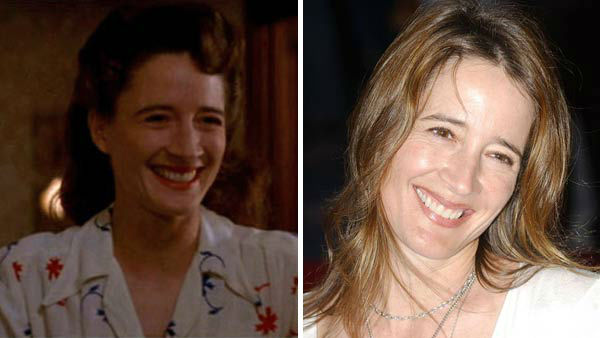 Left -- Anne Ramsay appears in a still from 'A League of Their Own.' Right -- Anne Ramsay appears at the HBO 'Six Feet Under' season 5 premiere in Los Angeles, California on May 17, 2005.