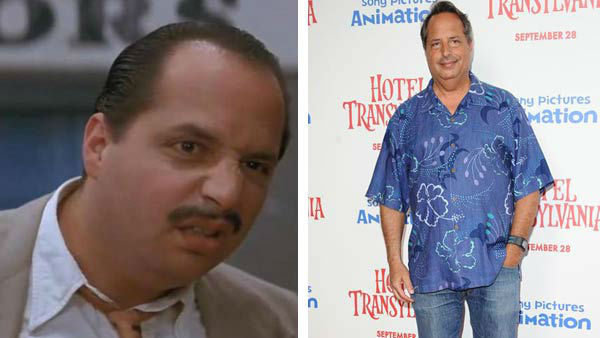 Left -- Jon Lovitz appears in a still from 'A League of Their Own.' Right -- Jon Lovitz appears at the premiere of 'Hotel Transylvania' in Los Angeles, California on Sept. 22, 2012.