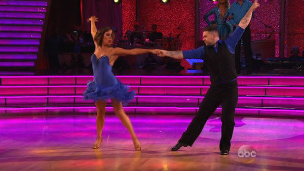Jack Osbourne and Cheryl Burke appear during the dance off on week eight of &#39;Dancing With The Stars&#39; on Nov. 4, 2013. <span class=meta>(ABC Photo)</span>