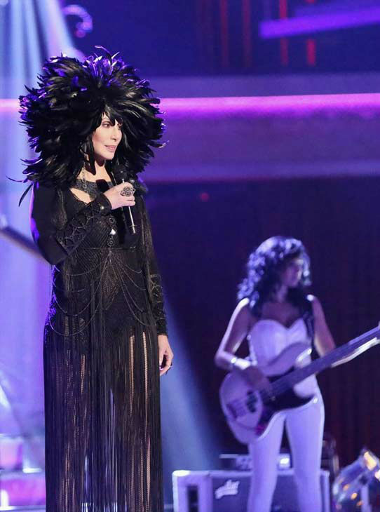 "<div class=""meta image-caption""><div class=""origin-logo origin-image ""><span></span></div><span class=""caption-text"">Cher performs 'I Hope You Find It' on week eight of 'Dancing With The Stars' on Nov. 4, 2013. (ABC Photo/ Adam Taylor)</span></div>"