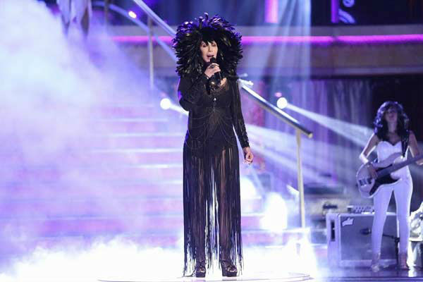 Cher performs &#39;I Hope You Find It&#39; on week eight of &#39;Dancing With The Stars&#39; on Nov. 4, 2013. <span class=meta>(ABC Photo&#47; Adam Taylor)</span>