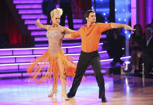 "<div class=""meta image-caption""><div class=""origin-logo origin-image ""><span></span></div><span class=""caption-text"">Brant Daugherty and Peta Murgatroyd appear during the dance off on week eight of 'Dancing With The Stars' on Nov. 4, 2013. (ABC Photo/ Adam Taylor)</span></div>"