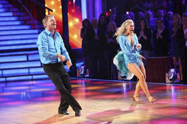 Bill Engvall and Emma Slater appear during the dance off on week eight of &#39;Dancing With The Stars&#39; on Nov. 4, 2013. <span class=meta>(ABC Photo&#47; Adam Taylor)</span>