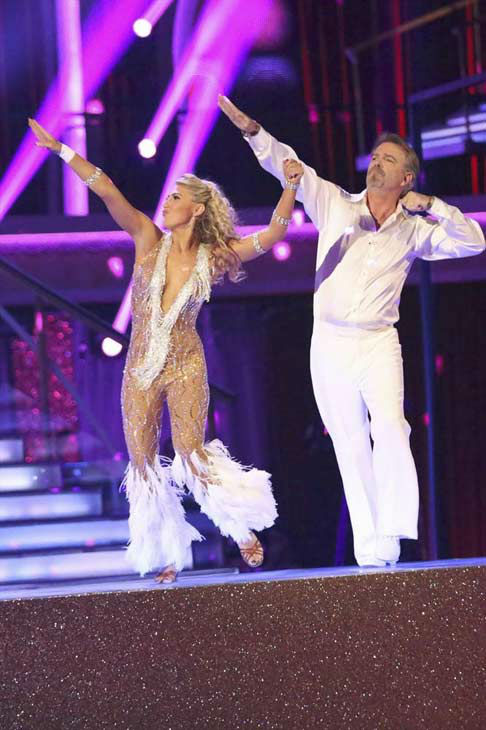 "<div class=""meta image-caption""><div class=""origin-logo origin-image ""><span></span></div><span class=""caption-text"">Bill Engvall and Emma Slater dance Disco on week eight of 'Dancing With The Stars' on Nov. 4, 2013. They received 23 out of 30 points from the judges.  (ABC Photo/ Adam Taylor)</span></div>"