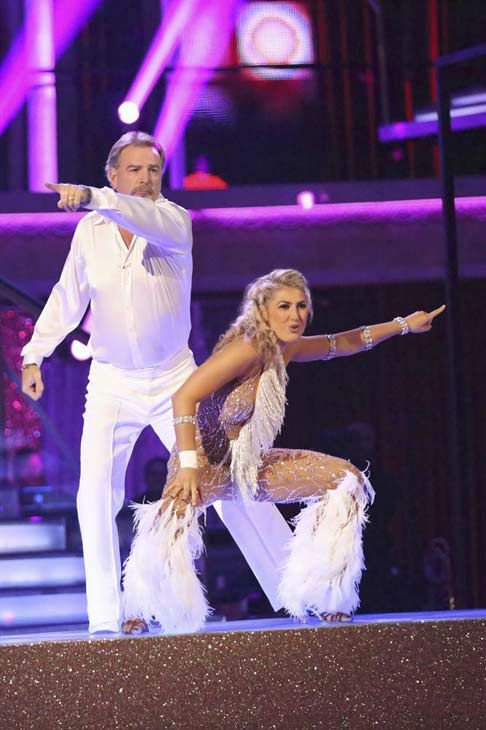 "<div class=""meta ""><span class=""caption-text "">Bill Engvall and Emma Slater dance Disco on week eight of 'Dancing With The Stars' on Nov. 4, 2013. They received 23 out of 30 points from the judges.  (ABC Photo/ Adam Taylor)</span></div>"